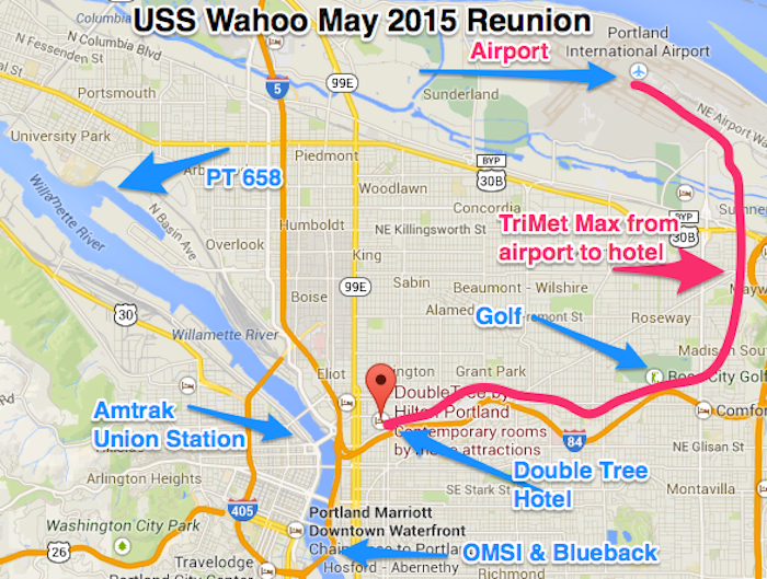 Portland Map | USS Wahoo Reunion 2015 on map of marylhurst university, map of foxborough, map of brookings, map of lithia park, map of spring city, map of seattle, map of beaverton, map of united states, map of michigan, map of northborough, map of winsted, map of crabtree, map of west salem, map of fort kent, map of lake oswego, map of west school, map of maine, map of north chelmsford, map of surrounding, map oregon,